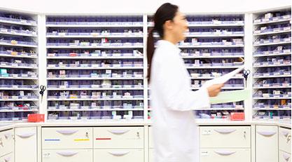 薬剤の不動在庫